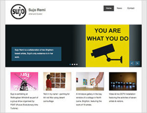 Sujo Remi - WordPress Website